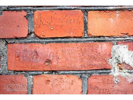 """Duże zdjęcie """"Stara Prochownia"""" - budynek A - inskrypcja #015"""