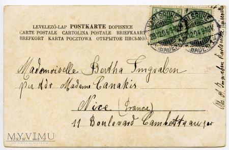 Dachshund - Jamnik świąteczno-okolicznościowy 1904