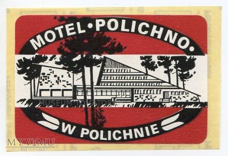 Nalepka hotelowa - Polichno - Motel Polichno