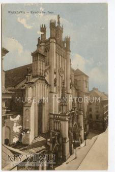 W-wa - Katedra Św. Jana - 1920/30
