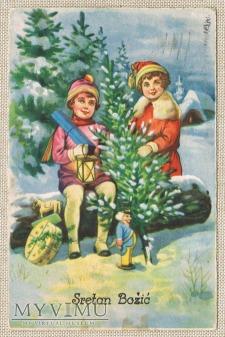 1933 Sretan Bożić Wesołych Świąt