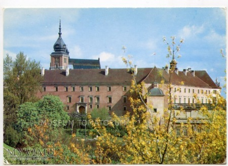 W-wa - Zamek - od południa - 1986