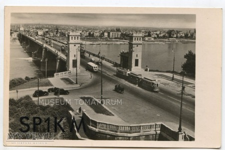 W-wa - III Most - Poniatowskiego - 1940/50-te