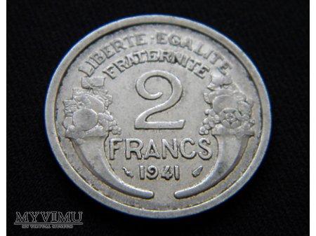 2 francs 1941