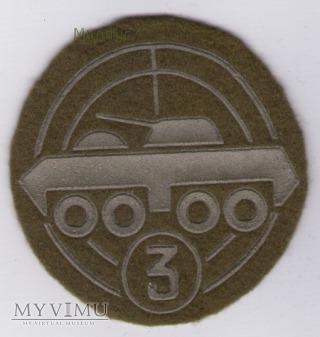 Oznaka specjalisty - wojska zmechanizowane 3kl