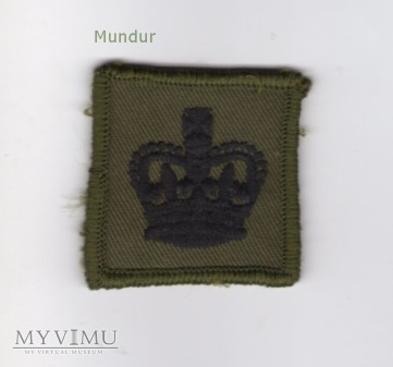 W.Brytania-oznaka stopnia: Warrant Officer Cl.3