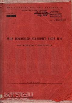 SKOT R-6. Opis techniczny z 1973 r.