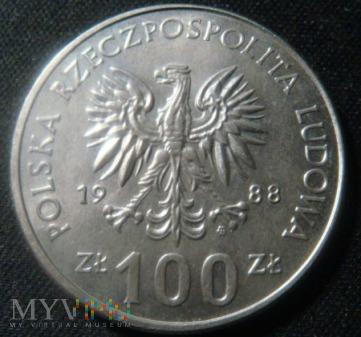 100 zł 1988 Powstanie Wielkopolskie