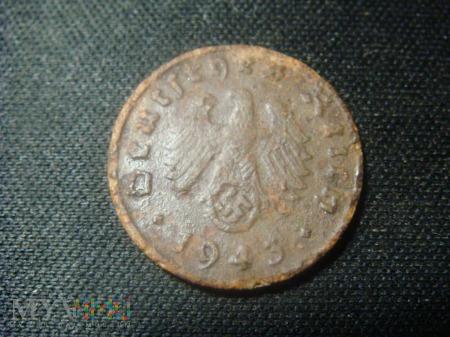 1 pfennig 1943 III Rzesza