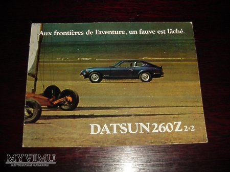 Prospekt DATSUN 260Z 2+2