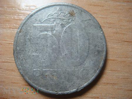 50 PFENNIG 1958 A Niemcy DDR