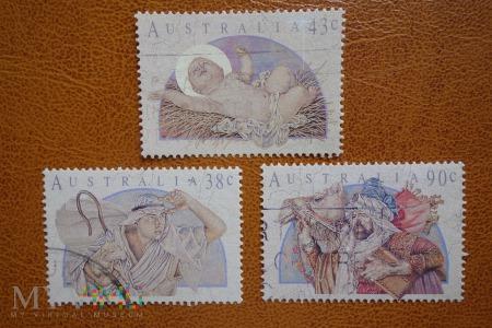 Australijskie znaczki na Boże Narodzenie