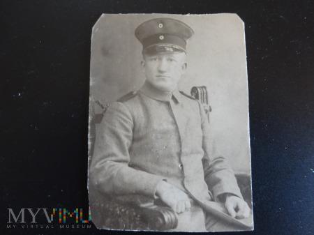 Duże zdjęcie Portret żołnierza