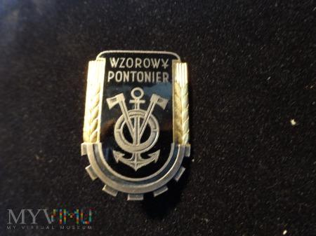 Wzorowy Pontonier - wzorka 1953r.