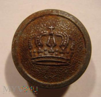 Guzik wojskowy pruski M 1907/10 E. A. O.