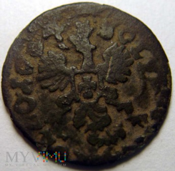 szeląg koronny (boratynka) 1664r