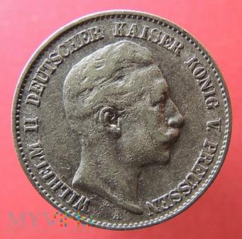 2 marki Wilhelm II 1900 A