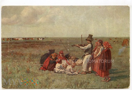 Chełmoński - Koncert na pastwisku