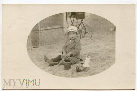 Zdjęcie plażowe z 1925 r.