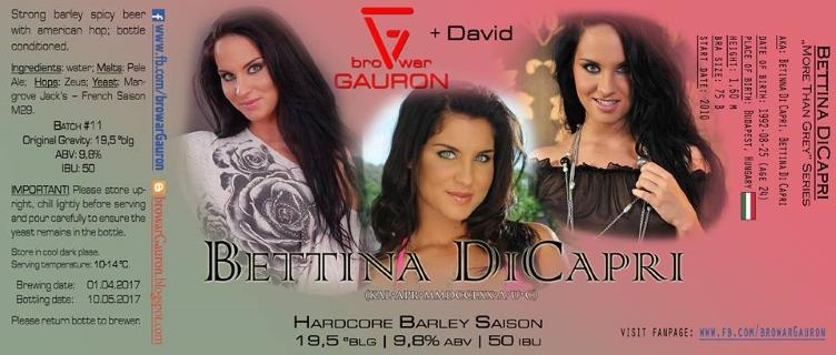Bettina DiCapri nude 773