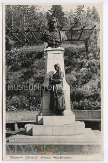 Krynica - Pomnik Mickiewicza - 1957