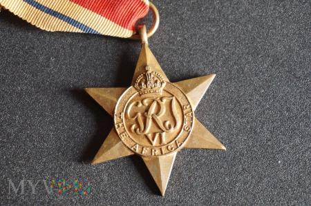Medal Brytyjski - Gwiazda Afryki