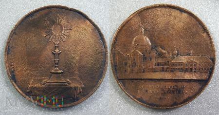 Medal z okresu zaborów 1888r.