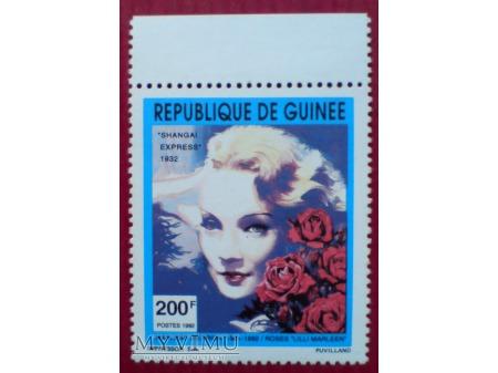 Marlene Dietrich Marilyn Monroe znaczek 1992