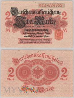 Niemcy, 2 marki 1914