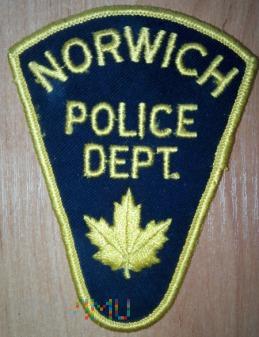 Norwich policja