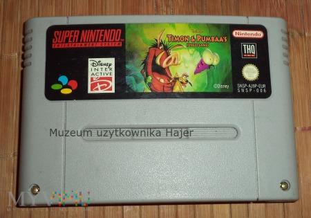 Timon & Pumbaa's - kartridż SNES Nintendo