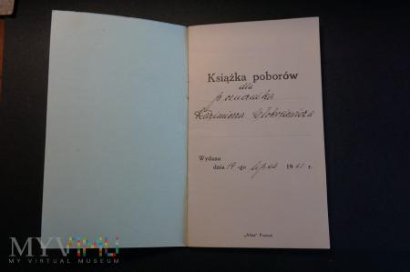 Książka Poborów 2 - Porucznika I Baonu 3 Pułku