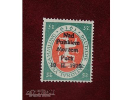 Nad Polskiem Morzem. Puck. 10 II 1920