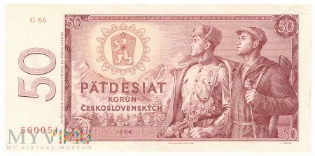 Czechosłowacja - 50 koron (1964)