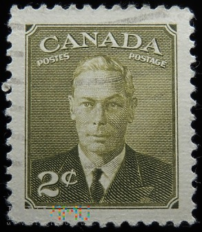 Kanada 2c Jerzy VI