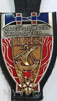 Odznaka SAPEURS POMPIERS LA BRIGADE PARIS