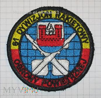 61.Dywizjon Rakietowy Obrony Powietrznej.1970-2011