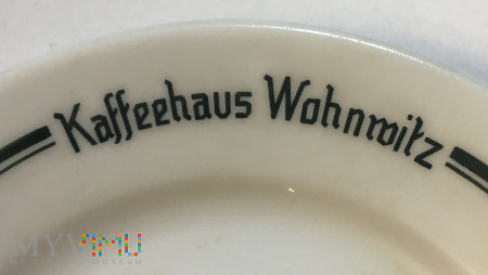 Talerzyk deserowy Kaffehaus Wohnwitz, Wojnowice
