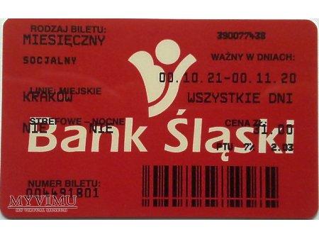 Bilet MPK Kraków 21