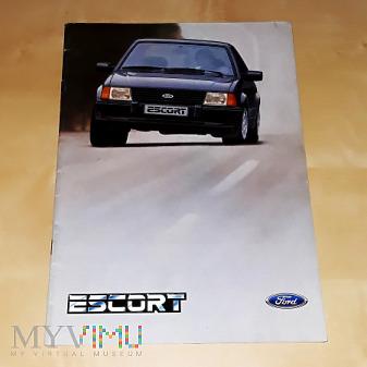 Prospekt Ford Escort 1985