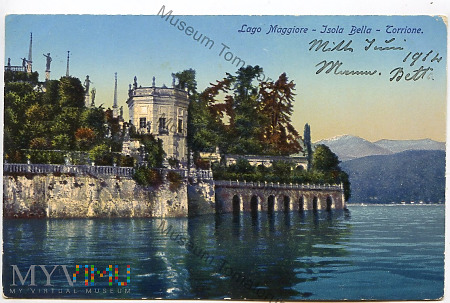Lago Maggiore - Isolla Bella - 1912
