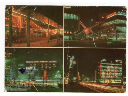 Duże zdjęcie Warszawa NEONY roztańczone światła stolicy PRL