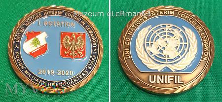 Coin UNIFIL I zm. Liban.2019/20
