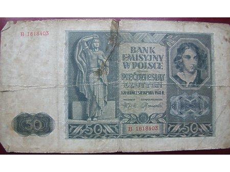 50 złotych 1941r.