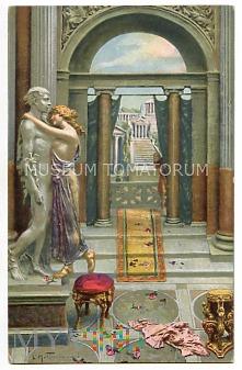 Quo Vadis - Eunice całuje posąg - Mastroianni