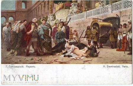 Quo Vadis - Ligia na byku - Siemiradzki