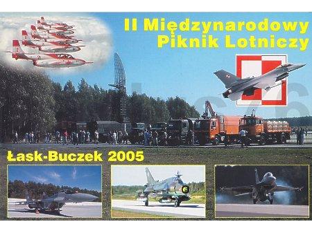II Międzynarodowy Piknik Lotniczy Łask-Buczek 2005