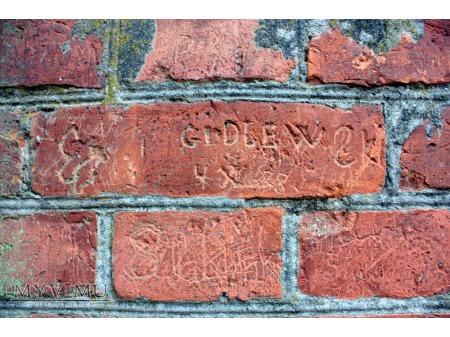 """""""Stara Prochownia"""" - budynek B - inskrypcja #012"""