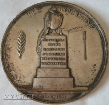 Medal-Uczczenie bohaterów Powstania Listopadowego.