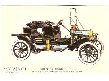 Pocztówka ze starym autem nr.4